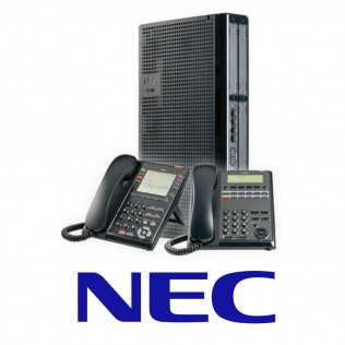 NEC logo and equipment
